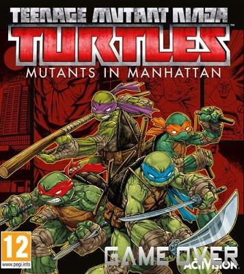 โหลดเกมส์นินจาเต่า [PC] TEENAGE MUTANT NINJA TURTLES: MUTANTS IN MANHATTAN | ONE2UP โหลดเร็ว