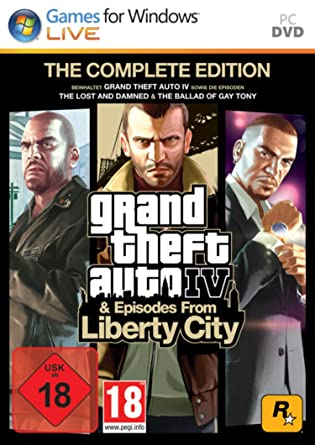 โหลดเกมส์ [PC] Grand Theft Auto IV Complete Edition 19 GB