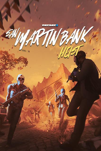 ดาวน์โหลดเกมส์ฟรี [PC] PAYDAY 2 SAN MARTIN BANK HEIST 41 GB