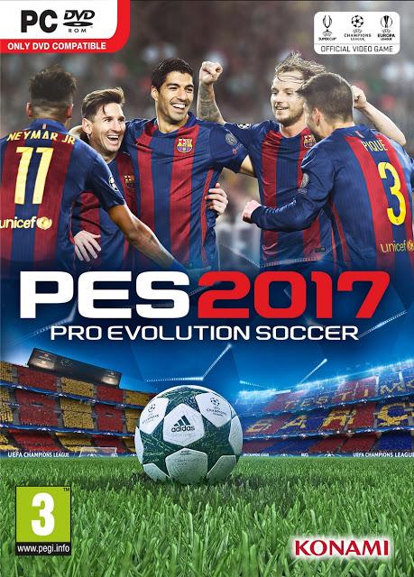 โหลดเกมส์ [PC] PRO EVOLUTION SOCCER 2017 | ไฟล์เดียว