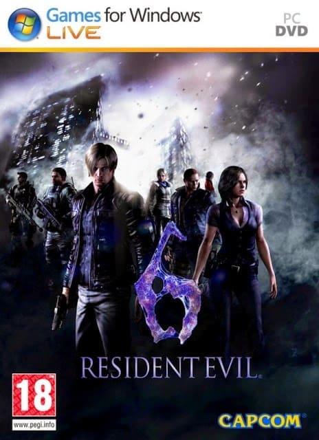 โหลดเกมส์ [PC] Resident Evil 6 เกมส์ยิงซอมบี้